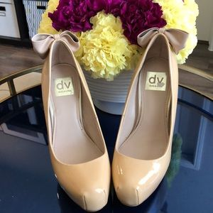 Barely used Dolce Vita Patent Platform Pumps